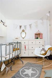 Guirlande Chambre Fille : d co chambre b b fille et gar on en style scandinave pour ~ Preciouscoupons.com Idées de Décoration