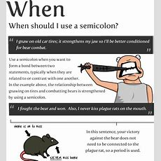 How To Use A Semicolon! (9 Pics) Izismilecom