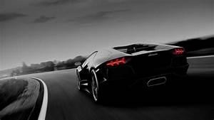 Black Lamborghini Aventador Wallpaper Wallpaper Studio