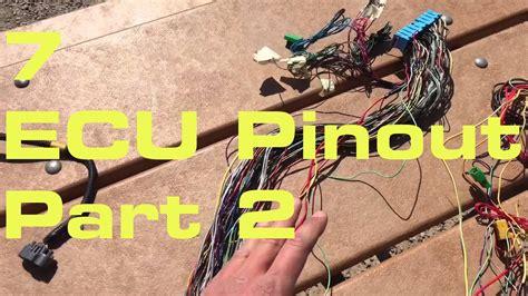 Ecu Pinout Wiring Harness Series Youtube