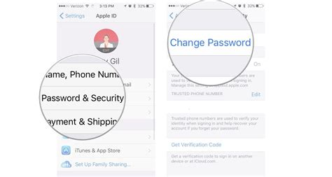 how to change security questions on iphone how to change and manage your apple id imore
