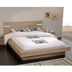 Lit Avec Chevet Intégré Conforama : tete lit avec chevet ~ Teatrodelosmanantiales.com Idées de Décoration
