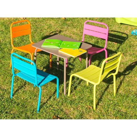 salon jardin enfant table enfant casimir tables de jardin tables chaises bancs mobilier de jardin jardin