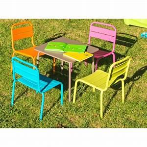 Salon De Jardin Pour Enfant : table enfant casimir tables de jardin tables chaises ~ Dailycaller-alerts.com Idées de Décoration