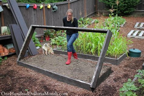 Gardens How To Build by Building New Garden Boxes One Hundred Dollars A Month