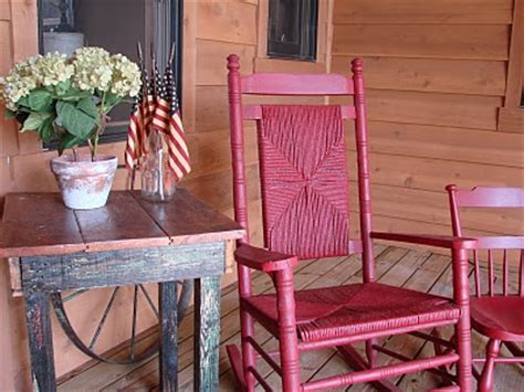 Cracker Barrel Porch Rocker by Painted My Ole Cracker Barrel Rocker That I Was Going To