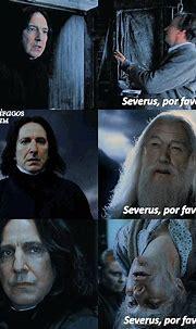 Por Alan Rickman y Severus Snape