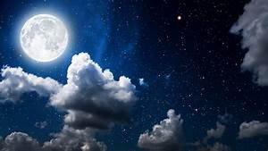 Moon, Clouds, Dark, Sky, Wallpapers
