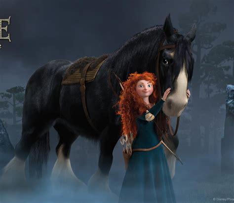 brave angus horses disney merida horse herd spirit eye spanengrish male kind ramblings