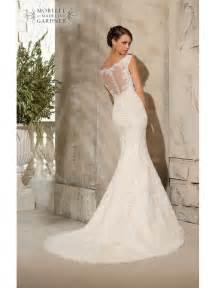 ivory lace bridesmaid dresses mori 5316 ivory silver lace fishtail wedding dress size 12