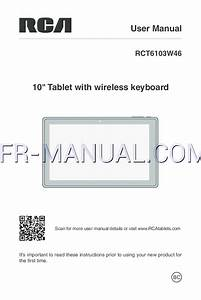 Manuel D U0026 39 Instructions Pour Tablettes Rca Pro10 Edition