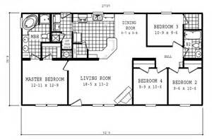 manufactured home floor plan 2006 oakwood 1767 58cla28524ah06