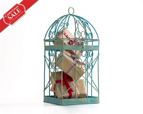 shabby chic home decor gifts box alternative bird cage