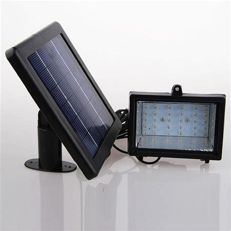 solar home lighting system floodlight 30 led outdoor light