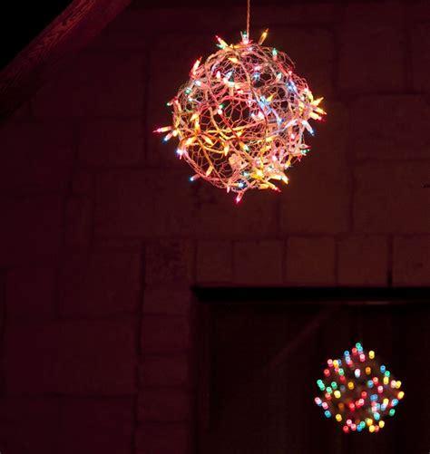 diy christmas light orbs crafts pinterest