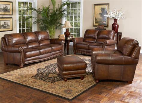 Leather Sofa by Leather Italia Sofa Loveseat Set W Options