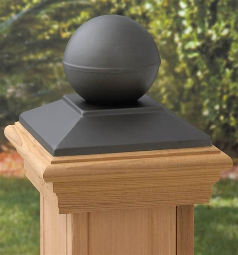 wood fence post cap version  thebestwoodfurniturecom