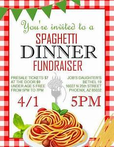 Spaghetti Dinner Fundraiser @ Paradise Valley Silver ...
