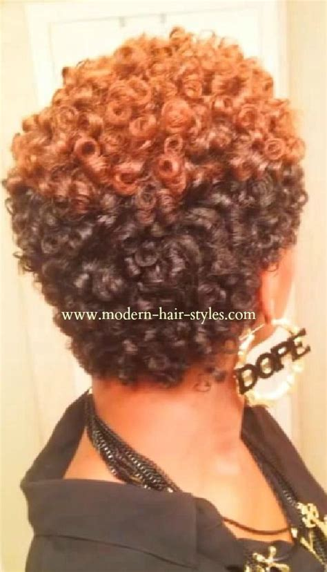Rod Hairstyles Black Hair by Hairstyles For Black Self Styling Options