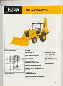 John Deere 210c Users Manual