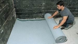 Isoler Sous Sol : un plancher de sous sol bien sec r novation bricolage ~ Melissatoandfro.com Idées de Décoration