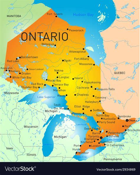 map  ontario cities  towns halton county printable