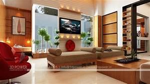 3d interior design rendering services bungalow home for Bungalow living room design