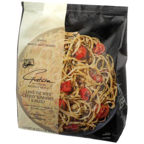 Gustare Vita Linguine with Cherry Tomatoes & Pesto | Hy ...
