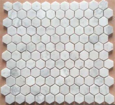 Tiling Tools Gumtree Perth by Hexagon Mosaic 25mm Bianco Carrara Honed Osborne Ceramic