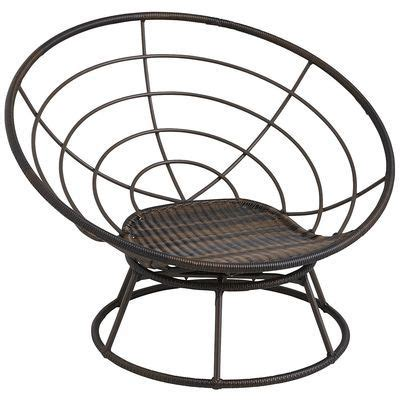 Metal Papasan Chair by Outdoor Swivelsan