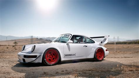 Cars Desert Tuning White Cars Porsche 911 Rauh Welt