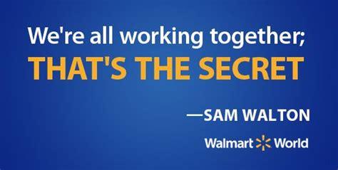 sam walton shares  secret  walmarts success sam