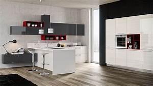 Cucine moderne con penisola Padova