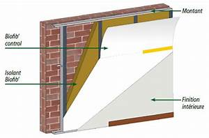 Isolation Mur Intérieur Polyuréthane : pose d 39 isolant sur murs ext rieurs par doublage int rieur ~ Melissatoandfro.com Idées de Décoration