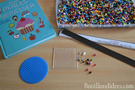 cuisine menu list fabriquer des magnets en perles à repasser pour frigo