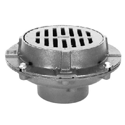 zurn floor sink drain zurn z508 9 quot heavy duty floor drain faucetdepot