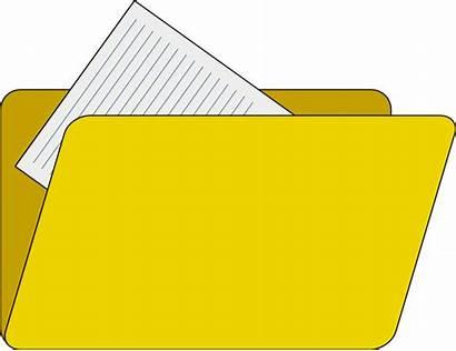 Folder Clipart Icon Clip Vector Explorer Documents