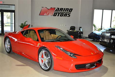 Used 458 Italia by Used 2011 458 Italia For Sale 182 900 Marino