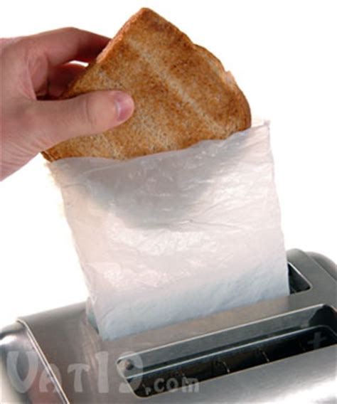 Toaster Bags by Toastit Toaster Bags Toast Sandwiches In Your Toaster