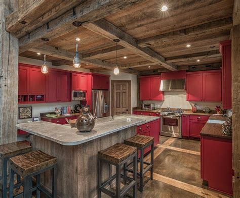 rustic kitchen islands with seating rustic concrete kitchen kitchen rustic with post and beam