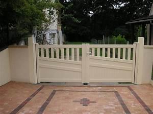 Installer Un Portail : installation d 39 un portail aluminium ksm par la miroiterie ~ Premium-room.com Idées de Décoration