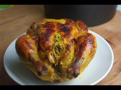 la cuisine marocaine cuisine marocaine poulet farci et cuit au four stuffed