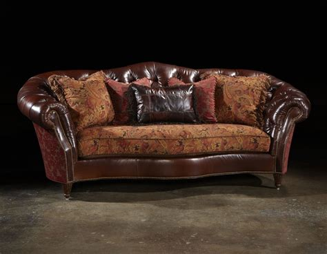 Formal Couches by Tufted Leather Formal Sofa Library Living Room