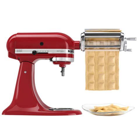 kitchenaid ravioli attachment maker stand mixers mixer attachments kitchen krav pasta aid grinder meat amazon slicer press extra food wish