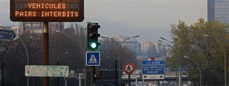 circulation alternee 7 decembre la circulation altern 233 e est quot la seule mesure 224 l heure actuelle quot pour faire baisser la pollution