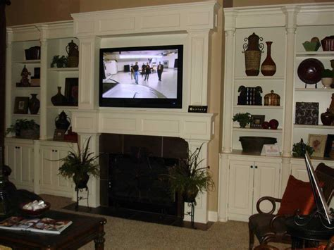 Tv Over Fireplace Design Some Problems On Pros And Cons