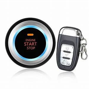 Car Alarm System Security Keyless Entry Push Button Remote