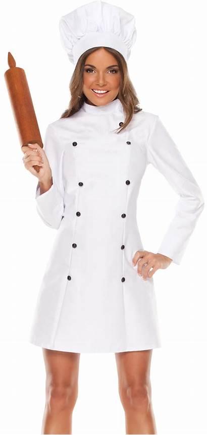 Chef Female Transparent Purepng Hat Professional Costumes
