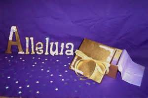 Bury Alleluia during Lent