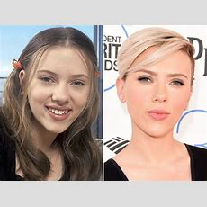 Scarlett Johansson, Before And After  Beautyeditor